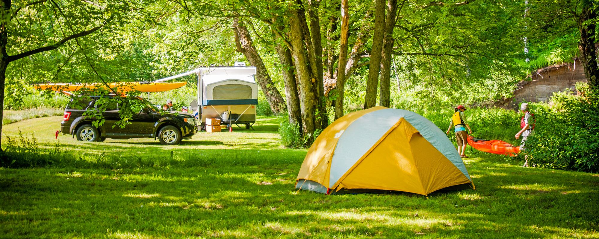 Camping Nature Plein Air - Client xPayrience
